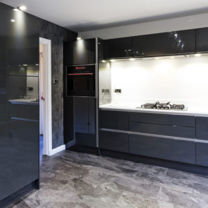 Stunning custom made kitchen built to the customers high standard in Scotland