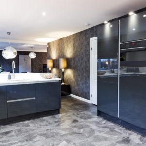 Custom designed and built high quality kitchen